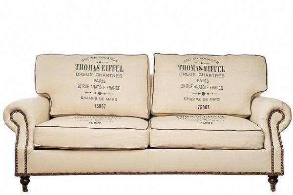 Диван 3-х местный Tomas-Eiffiel купить в салоне-студии мебели Барселона mnogospalen.ru много спален мебель Италии классические современные