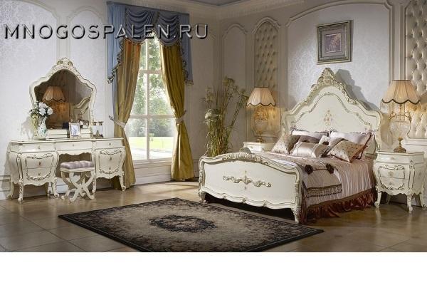 Спальня Дольче Вита купить в салоне-студии мебели Барселона mnogospalen.ru много спален мебель Италии классические современные