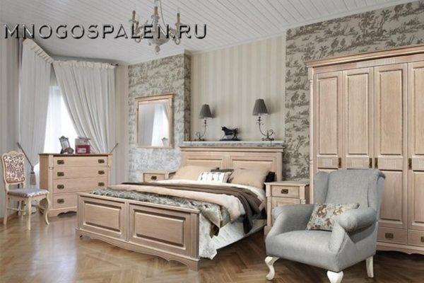 Спальня «Бланш» купить в салоне-студии мебели Барселона mnogospalen.ru много спален мебель Италии классические современные