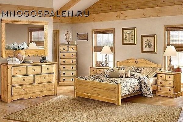Спальня «Кантри» купить в салоне-студии мебели Барселона mnogospalen.ru много спален мебель Италии классические современные