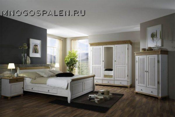 Спальня «Мальта-Хельсинки» купить в салоне-студии мебели Барселона mnogospalen.ru много спален мебель Италии классические современные