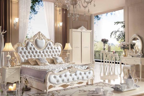 Спальня Виктория 8818 купить в салоне-студии мебели Барселона mnogospalen.ru много спален мебель Италии классические современные