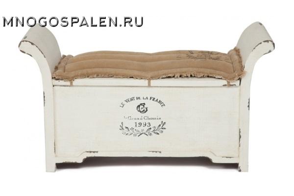 Банкетка Secret De Maison VOLANCE ( mod. M-6104 ) купить в салоне-студии мебели Барселона mnogospalen.ru много спален мебель Италии классические современные
