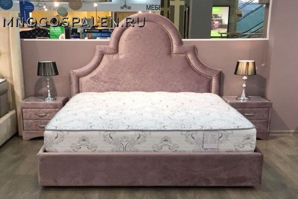 Кровать HOLLY купить в салоне-студии мебели Барселона mnogospalen.ru много спален мебель Италии классические современные