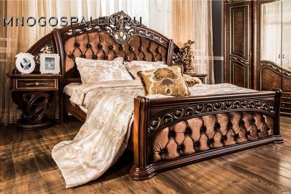СПАЛЬНЯ ШАХ КОРЕНЬ ДУБА купить в салоне-студии мебели Барселона mnogospalen.ru много спален мебель Италии классические современные