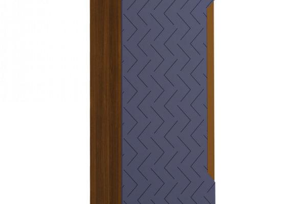 Шкаф 1-створчатый универсальный Сканди Сапфир купить в салоне-студии мебели Барселона mnogospalen.ru много спален мебель Италии классические современные