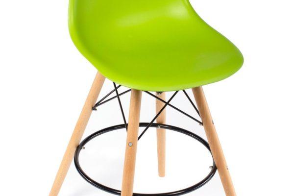 Стул Eames барный зелёный купить в салоне-студии мебели Барселона mnogospalen.ru много спален мебель Италии классические современные