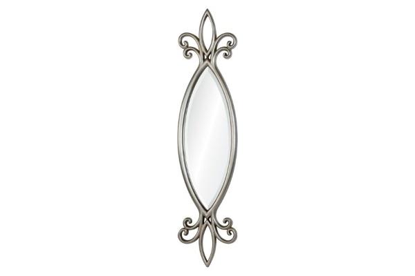 Зеркало Hillary А88041-1 серебро купить в салоне-студии мебели Барселона mnogospalen.ru много спален мебель Италии классические современные