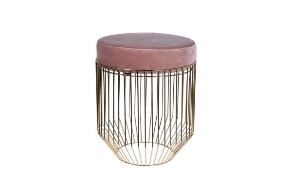 Банкетка велюровая розовая на металлическом каркасе купить в салоне-студии мебели Барселона mnogospalen.ru много спален мебель Италии классические современные
