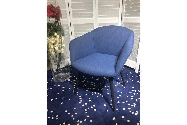 Кресло CAMELIA DARK BLUE M-CITY купить в салоне-студии мебели Барселона mnogospalen.ru много спален мебель Италии классические современные