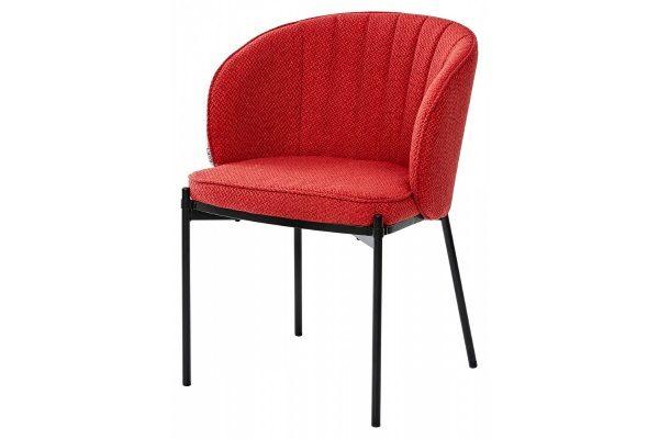 СТУЛ DIANA TRF-04 КРАСНЫЙ, ТКАНЬ купить в салоне-студии мебели Барселона mnogospalen.ru много спален мебель Италии классические современные